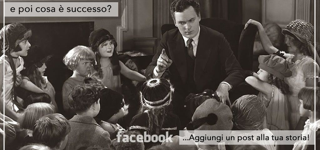 """Aggiungi un post alla tua storia"""". La nuova funzione Facebook che (forse) non conosci!"""