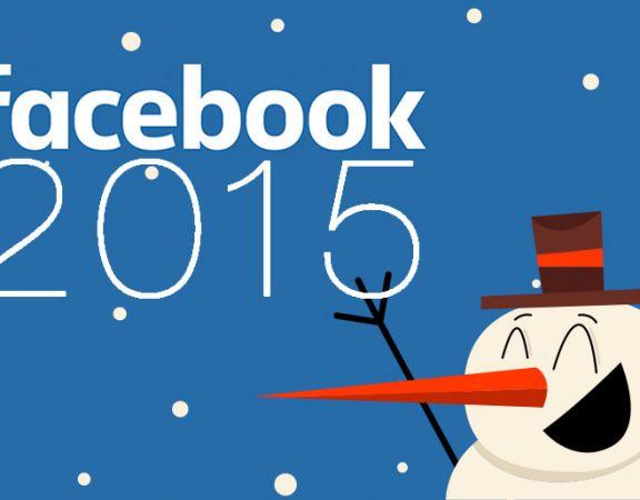 Il 2015 di Facebook